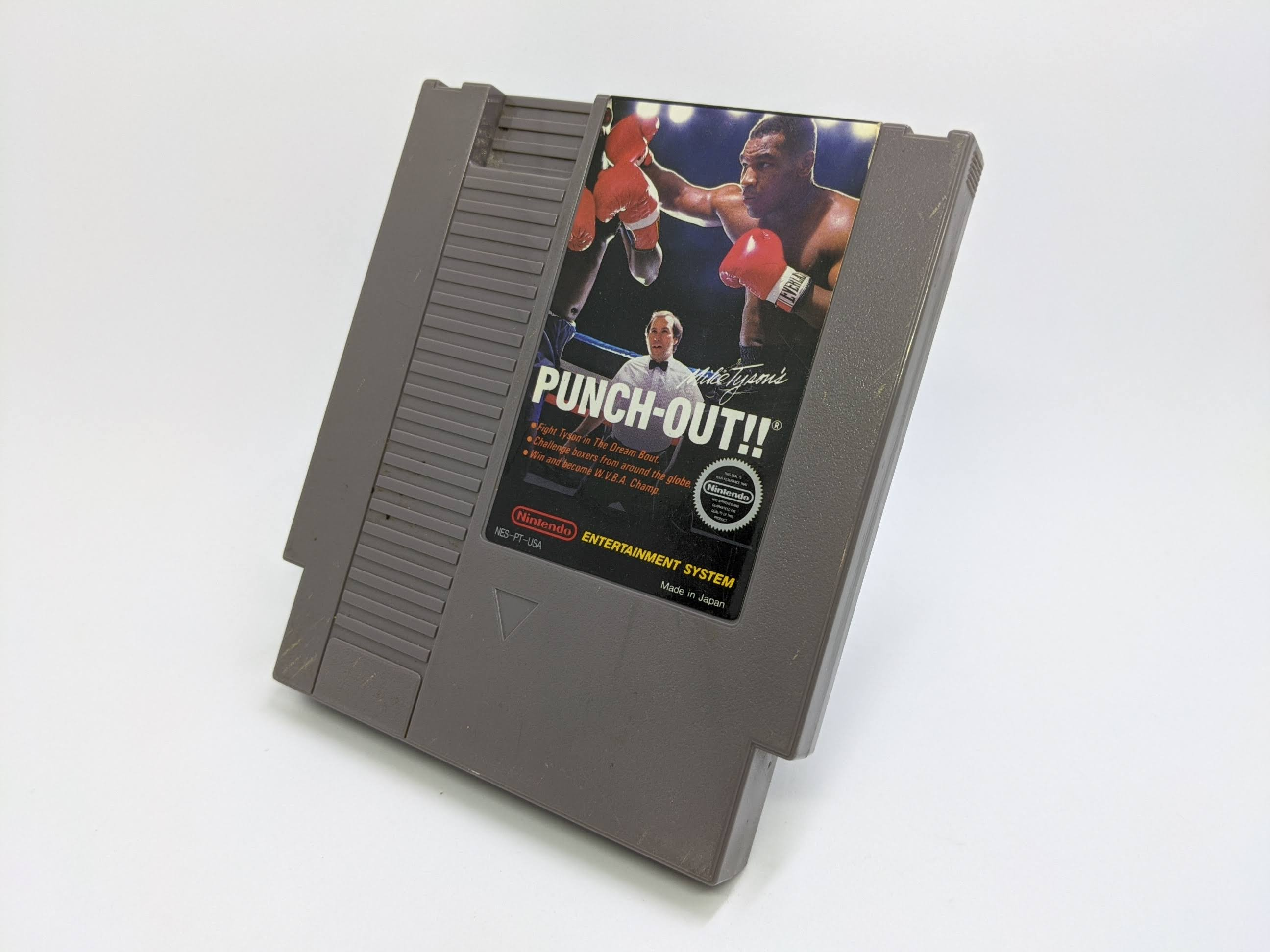 Mike Tyson's Puch Out NES (3 screw variant)